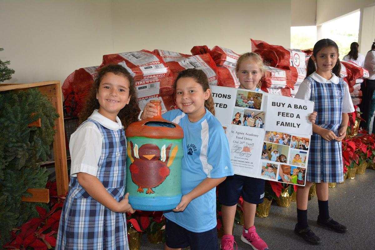 St Agnes Academy Thanksgiving Food Drive