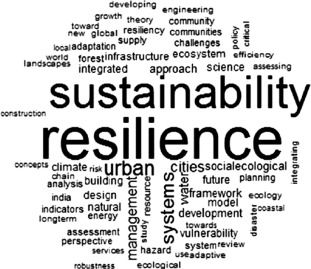 Resilience and Sustainability