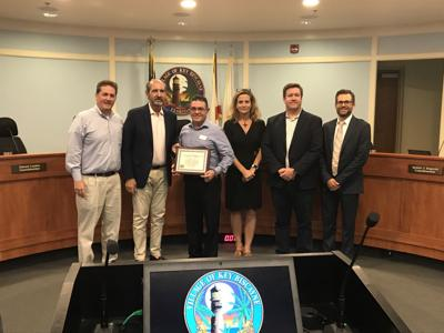 KB Winn Dixie Manager Jose Llanes receives Council recognition
