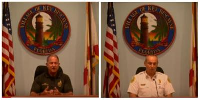Video messages from Chief Lang and Chief Press