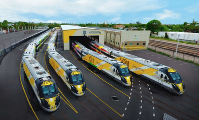 Construction of Brightline's Miami and Orlando rail line reaches halfway point