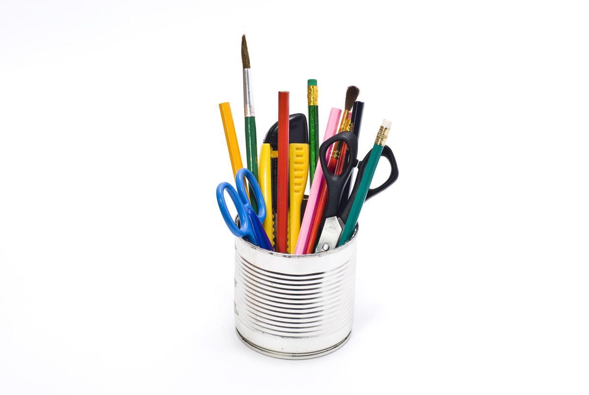 Tin containing stationary