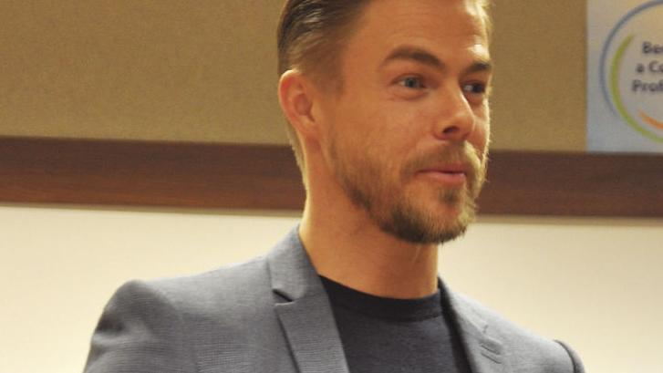 Derek Hough visits ISU. See story about his speaker series in Thursday's issue.