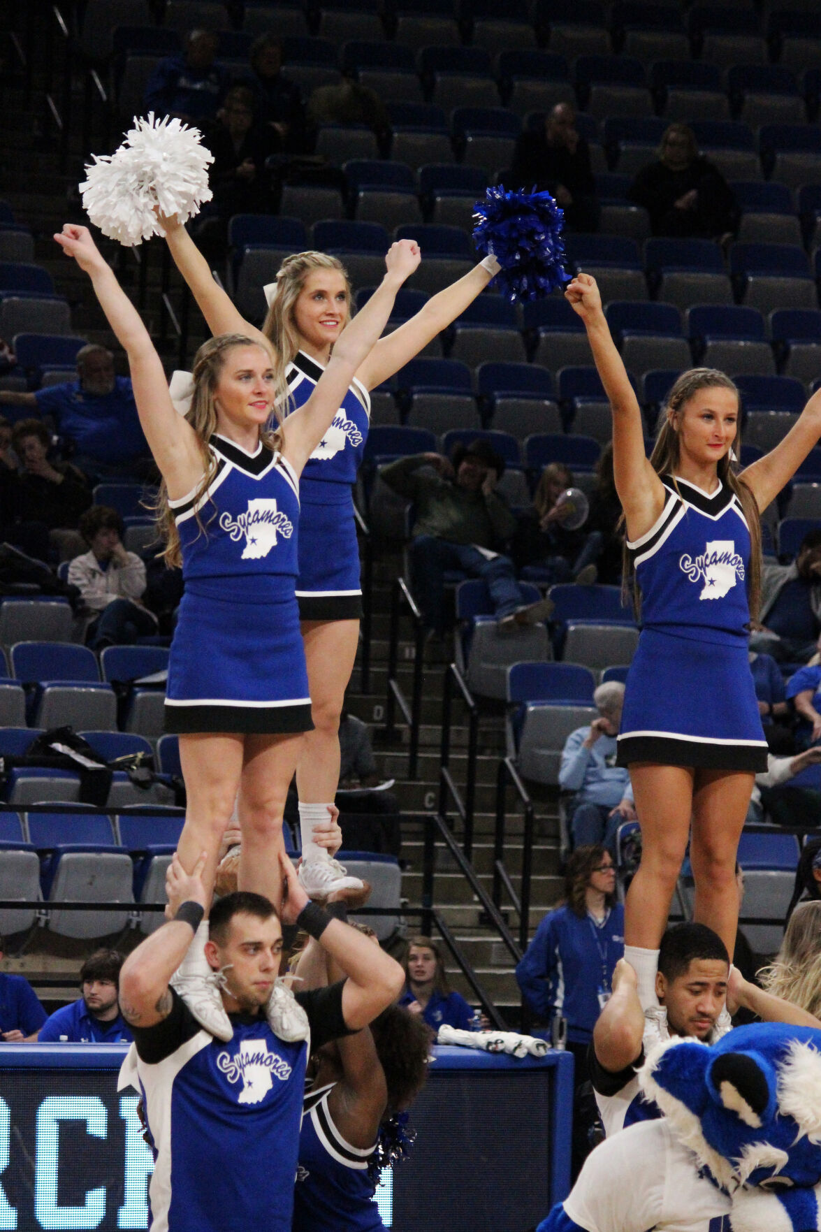 ISU Cheer Team:  Group embraces role as Sycamore ambassadors