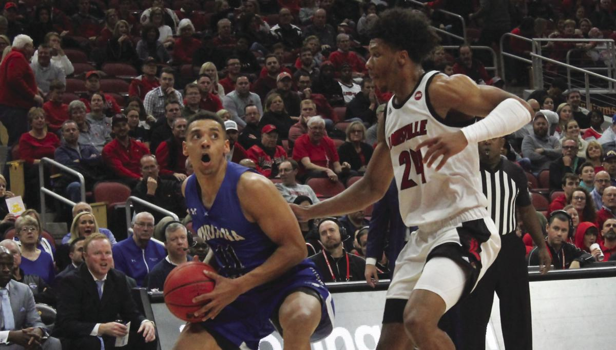 Indiana State Men's Basketball falls to No. 4 Louisville 91-62
