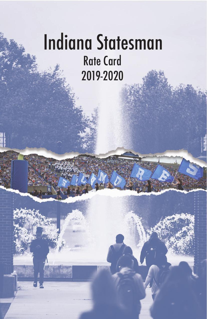 Indiana Statesman Rate Card 2019-20