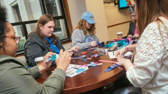 Community service and engagement at Indiana State