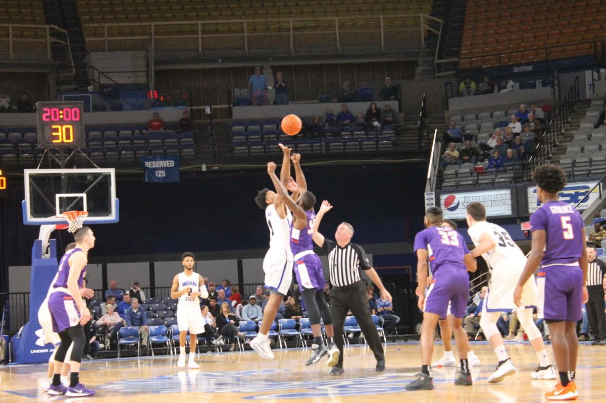 ISU Men's Basketball vs Evansville, Jan. 15, 2020