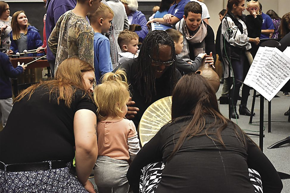 Toddler and kid friendly percussion concert inspires young children1