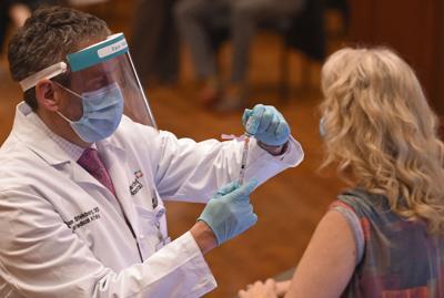 Students began receiving vaccines on Wednesday