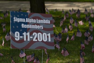 Sigma Alpha Lambda holds memorial tribute for 9/11