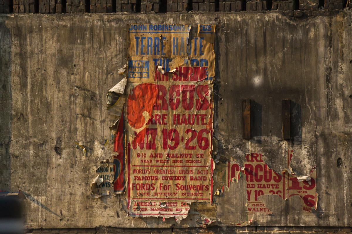 Uncovered: Demolition of a building reveals a piece of Terre Haute history