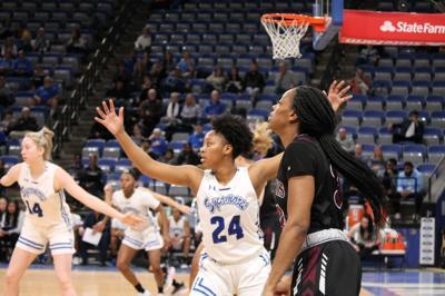 ISU Women's Basketball fall to MVC foe Southern Illinois, 78-55