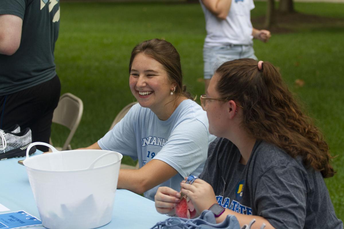 Get involved: Monday's Student Involvement Fair drew hundreds of students