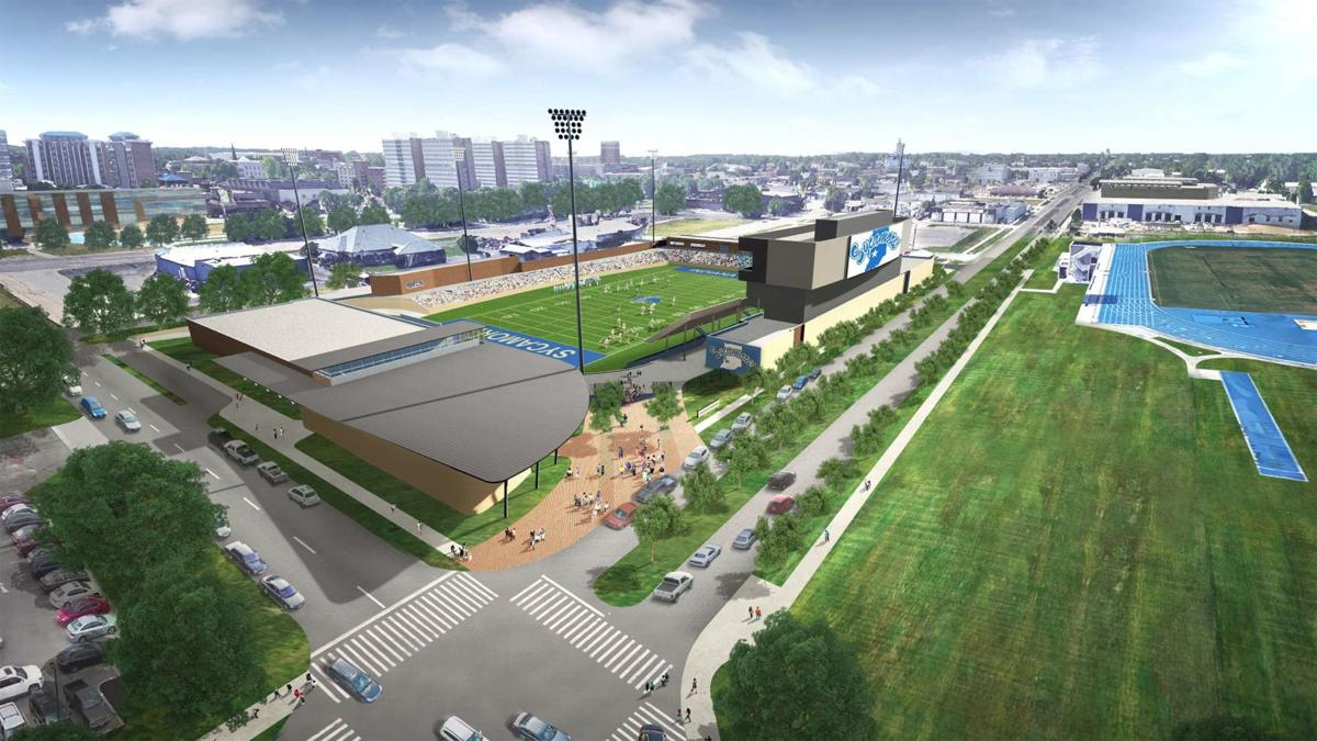 Indiana State pictures new stadium
