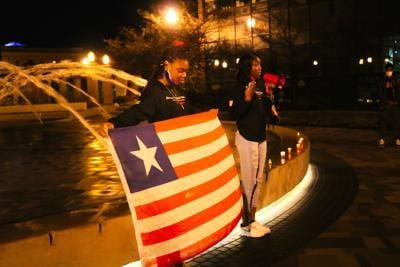 ISU Students Raise Their Voice Against the Violence in Africa