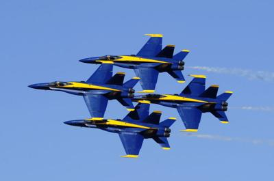 Blue Angels kick of 2014 season