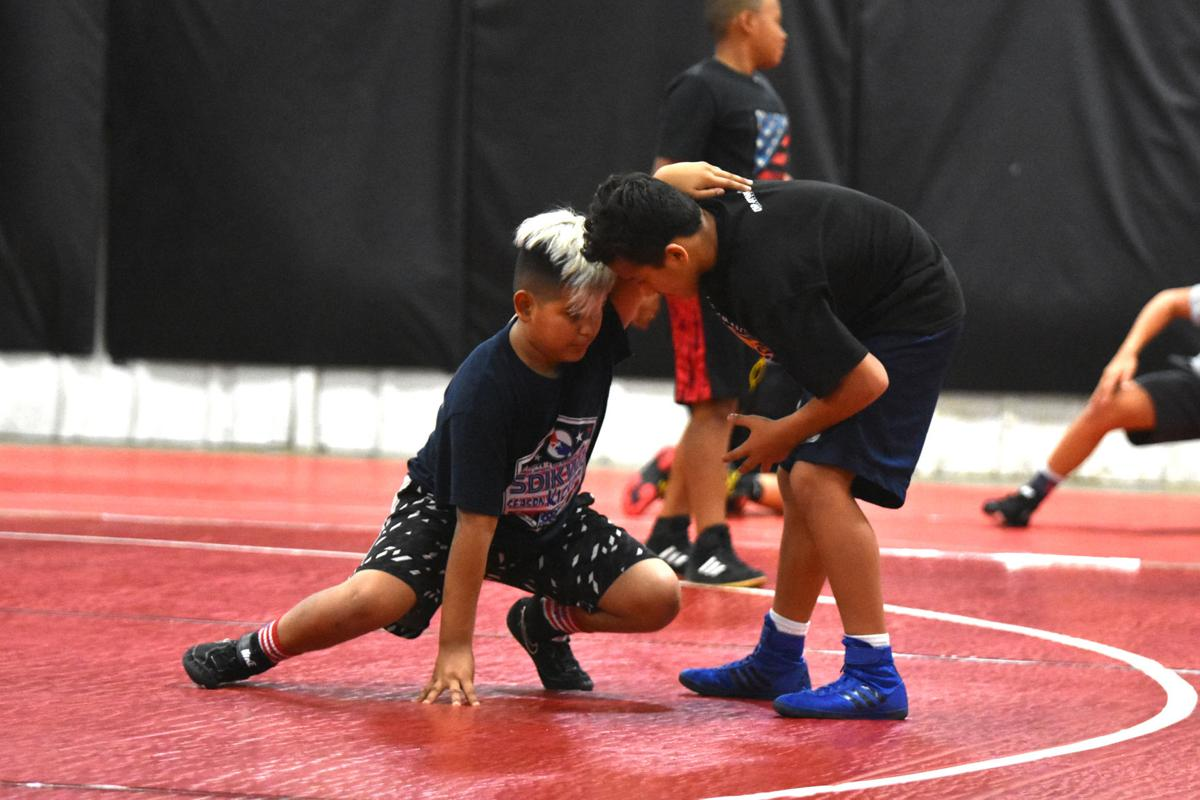 Heart and Hustle clinic steers grapplers toward success