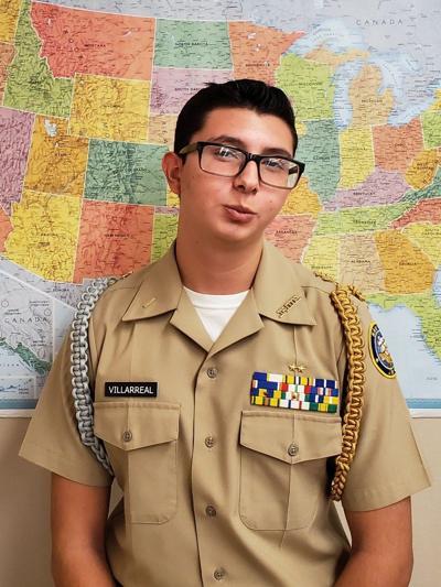 Calexico High School Navy JROTC Cadet of the Week: Raul Villarreal