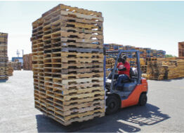 Produce shippers deal with pallet shortage