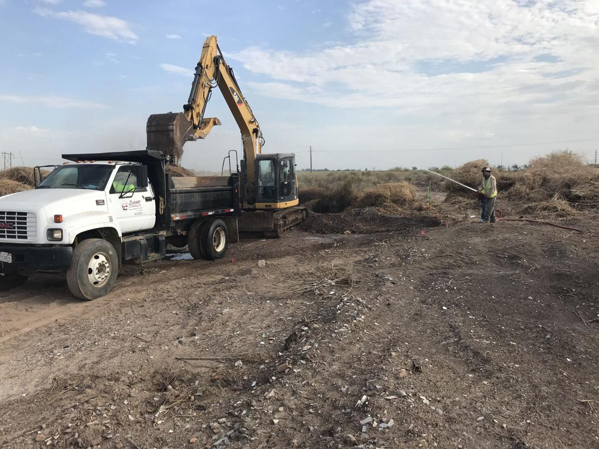 Cleanup of illegal dumpsite finally complete