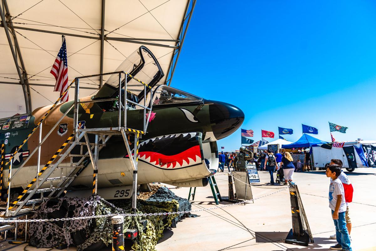 NAF Air Show bring thrills over the desert