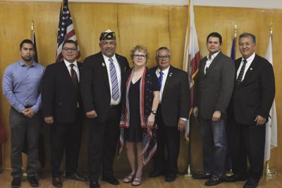 Veteran of the Year Rascoe lauded for his dedication