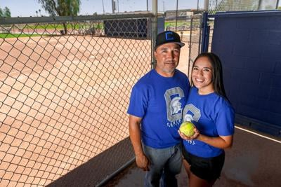 Chris Acosta has helped mold daughters Jessica and Danica into champions