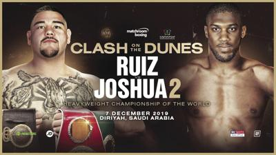 Joshua camp announces venue for rematch, Ruiz mum for now