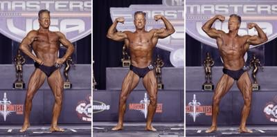 Retired ICSO deputy earns 3 trophies in bodybuilding event