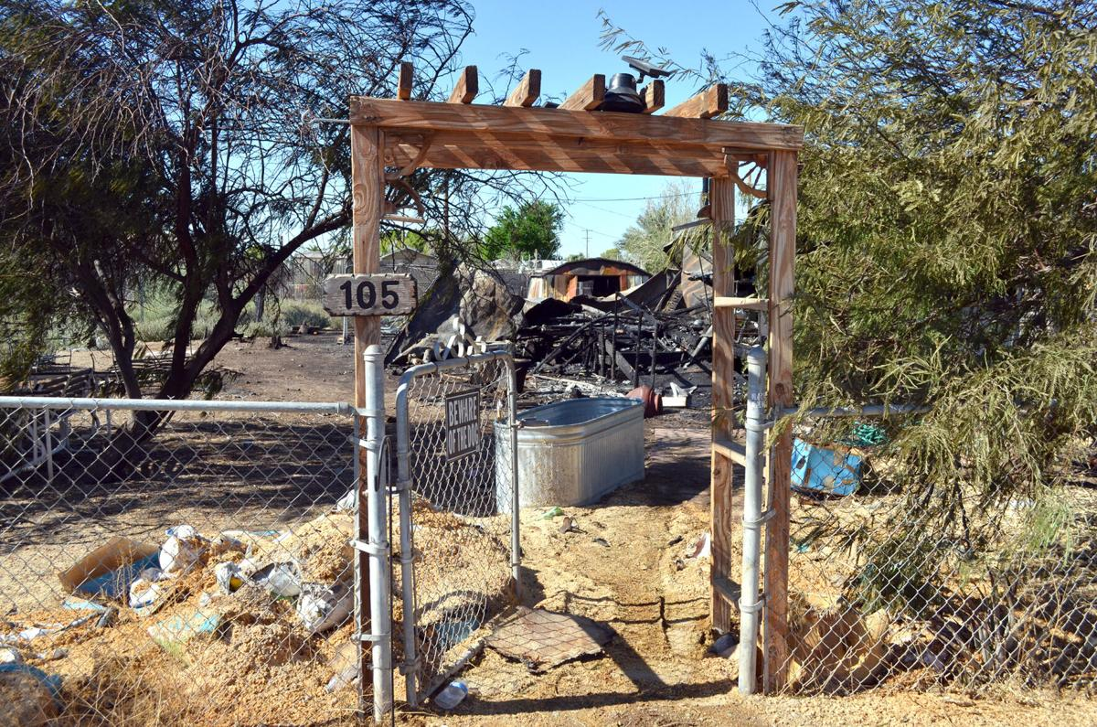 Travel trailers sought for Niland fire victims