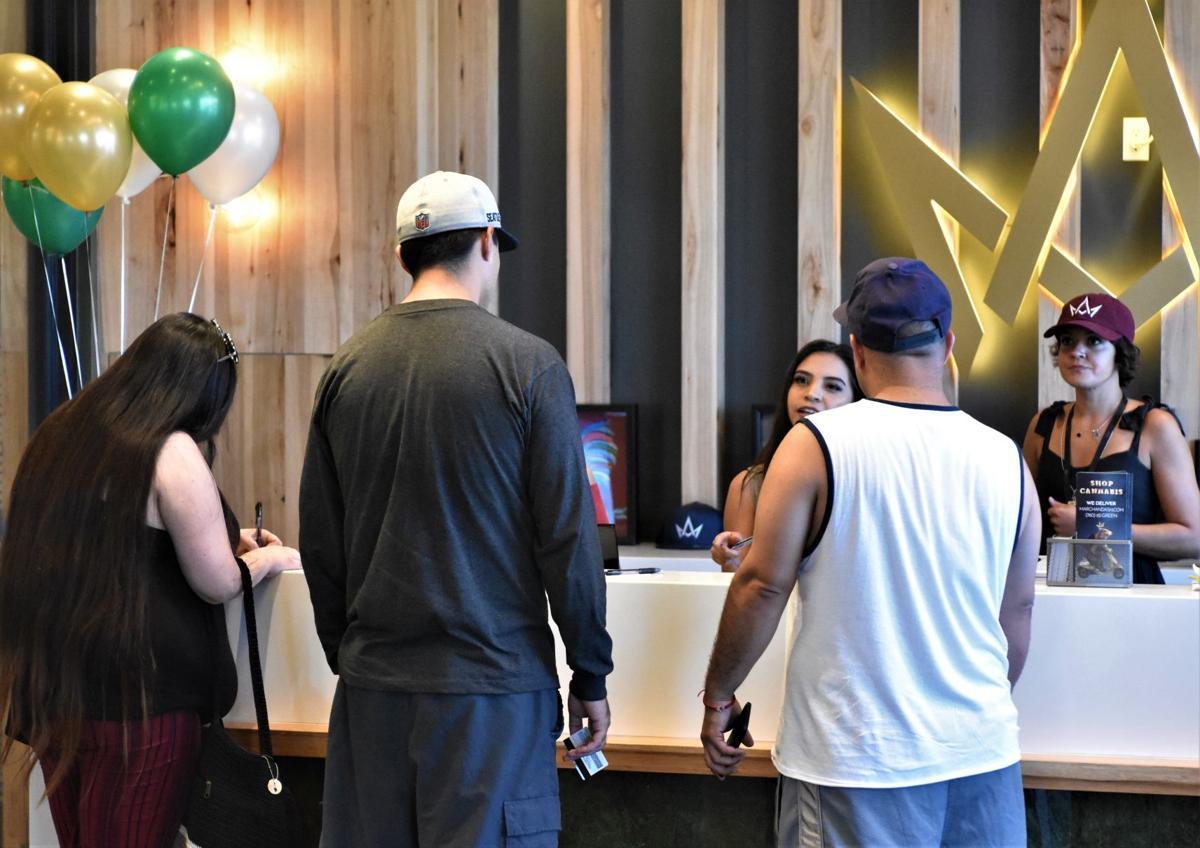 Cannabis dispensary celebrates grand opening