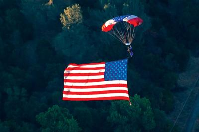 'This is truly amazing': Each rodeo performance to feature parachute