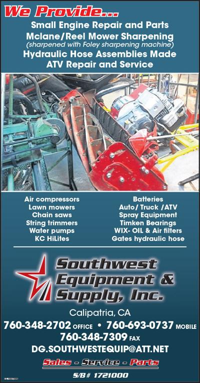 Southwest Equipment Supply Inc.