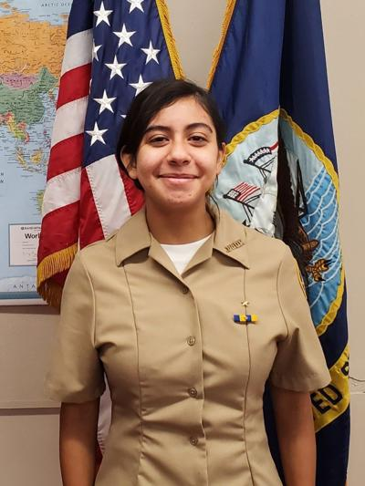 Calexico High School Navy JROTC Cadet of the Week: Eva Luz Morales