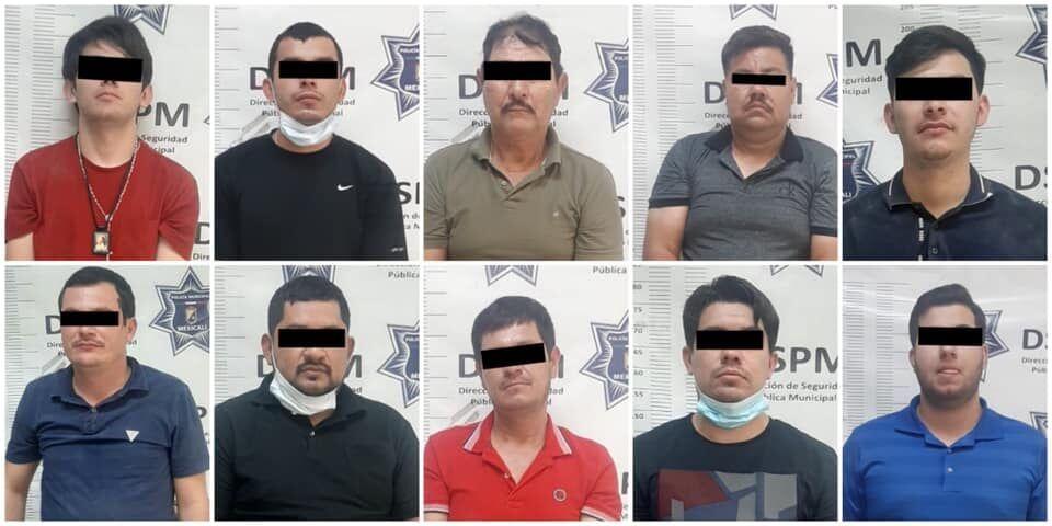 Police arrest 11 alleged cartel members