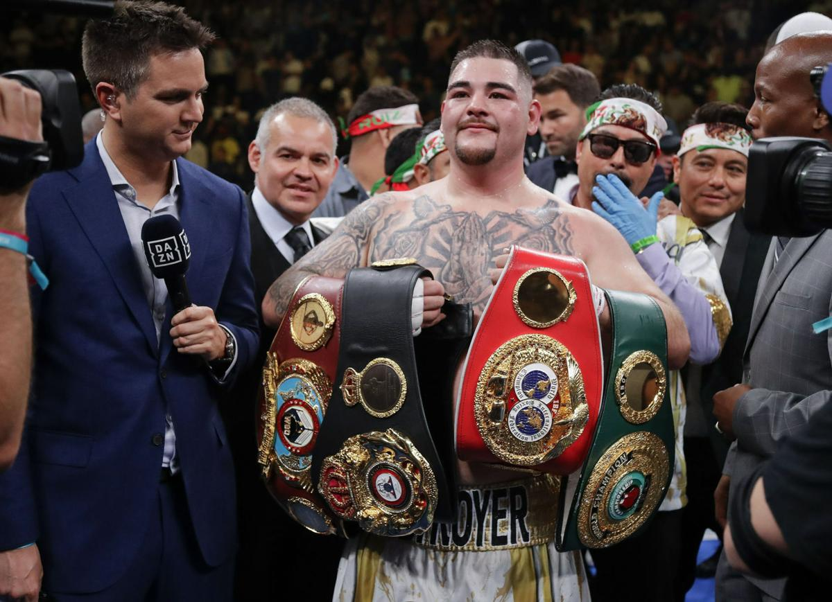 The Champ: Valley's Andy Ruiz overcomes 30-1 odds to claim heavyweight title