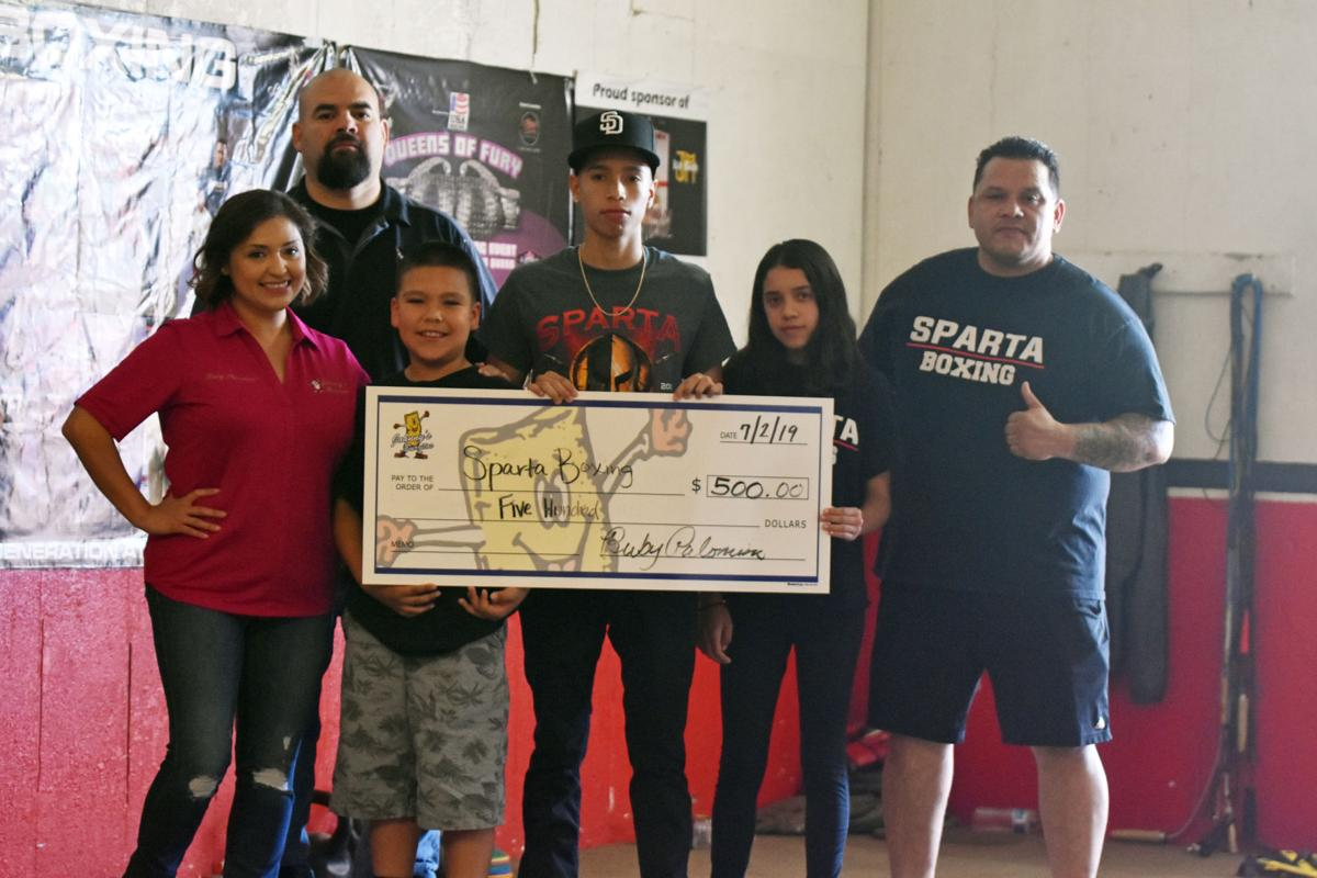 Boxing gyms receive windfall