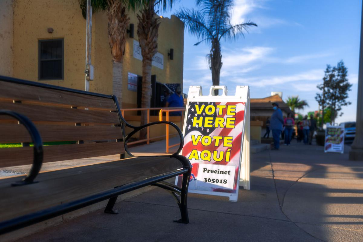 Local voters turn out in expected record numbers