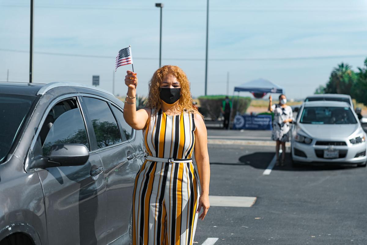 Drive-thru naturalization ceremony held