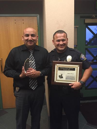 Calexico police officers recognized