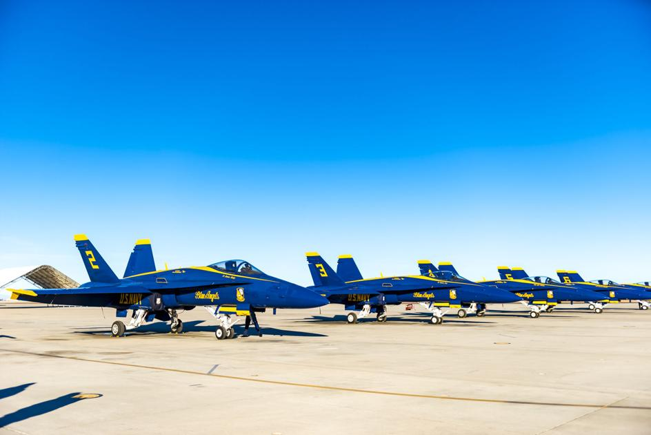 Blue Angels to do 2021 practice demo | Local News ...