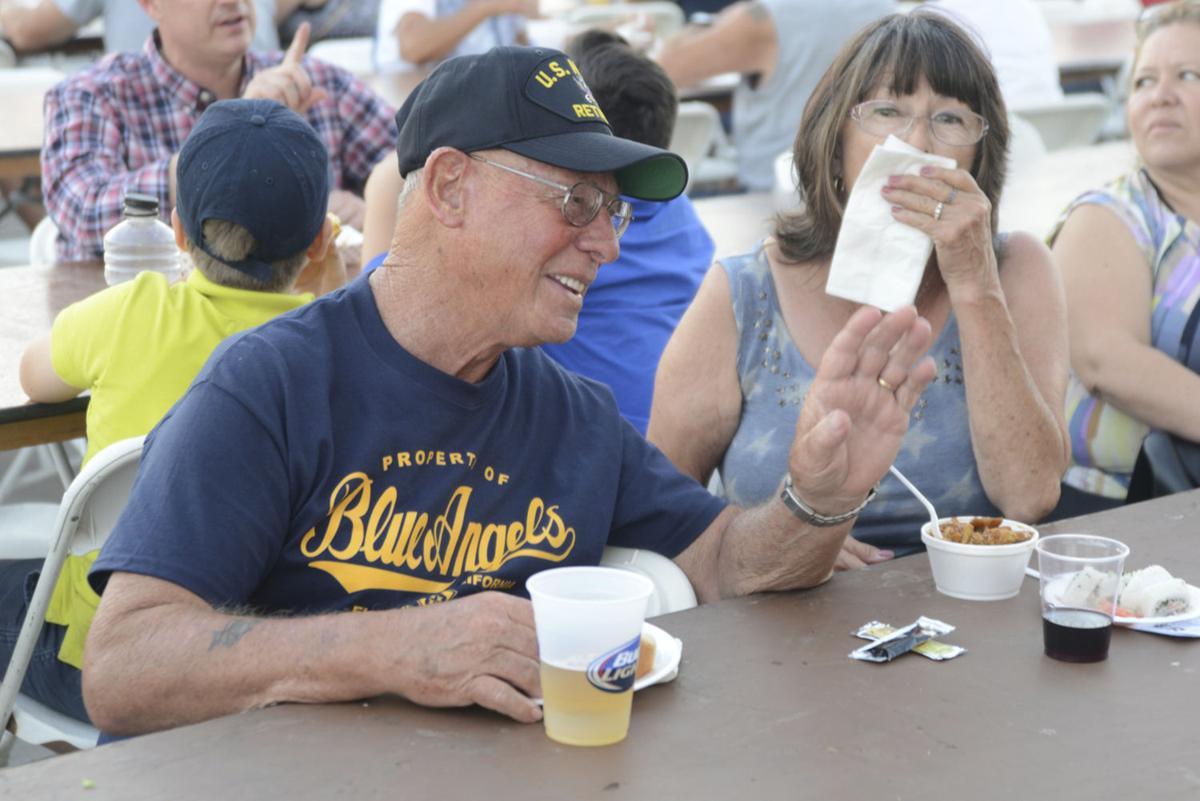 Families, friends flock to NAFEC food festival