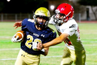 Scots set for title run after 42-13 win over Red Hawks
