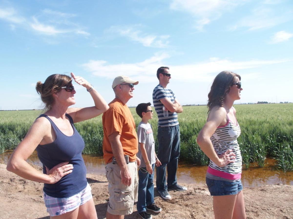 Locals, visitors take in the Blue Angels from a different view