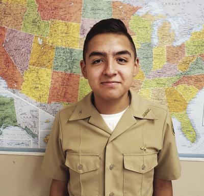 Calexico High School Navy JROTC Cadet of the Week: Manuel Sanchez