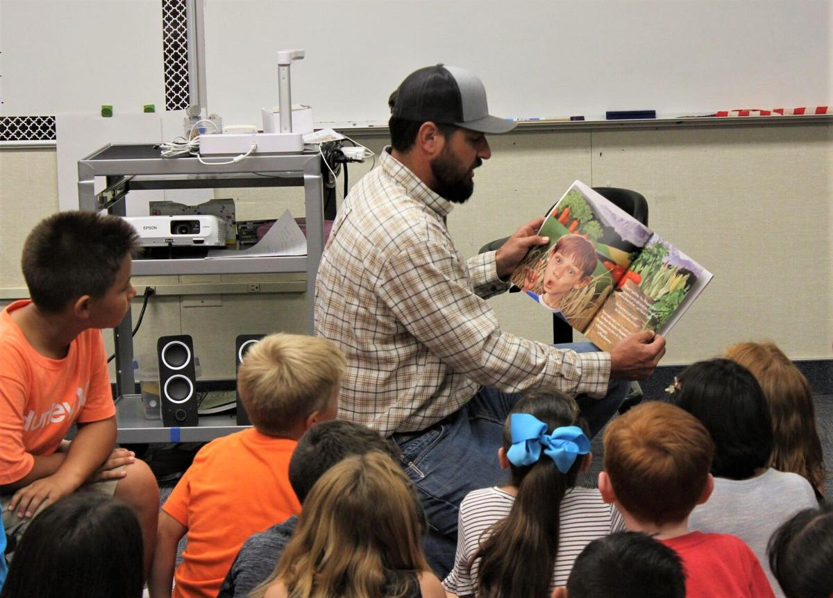 Farm organizations put special twist on literacy event