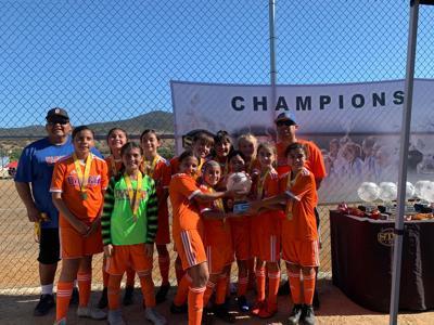 Dynamo 2008 girls win weekend tournament