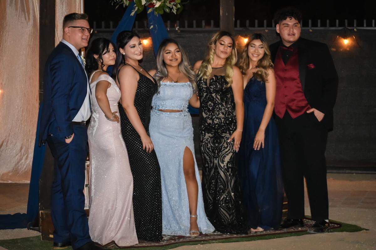 Brawley and Central seniors celebrate prom night