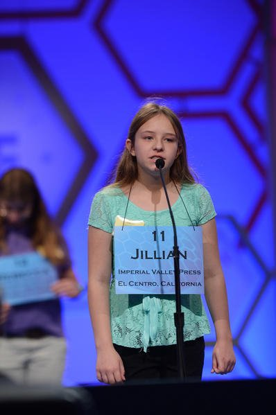 Imperial girl won't advance to Spelling Bee semifinals